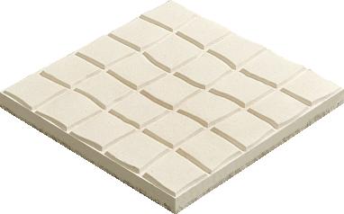 Mosaico fino bujardado 40x40 for Precio mosaicos para exterior