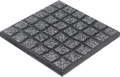 Mosaico relevo polido 40x40 for Precio mosaicos para exterior