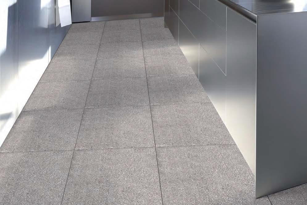 Mosaico fino bujardado 40x40 - Pavimento de exterior ...