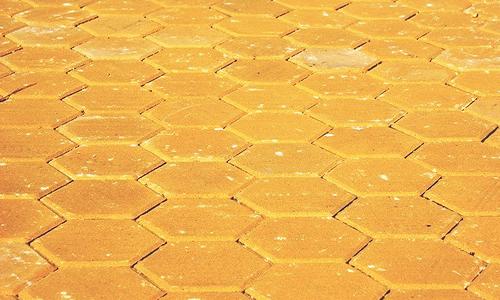 Clique na imagem para ampliar for Pavimento ceramico hexagonal
